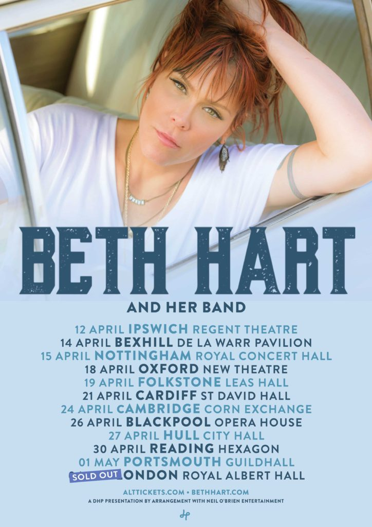 Beth Hart Tour 2018 Poster