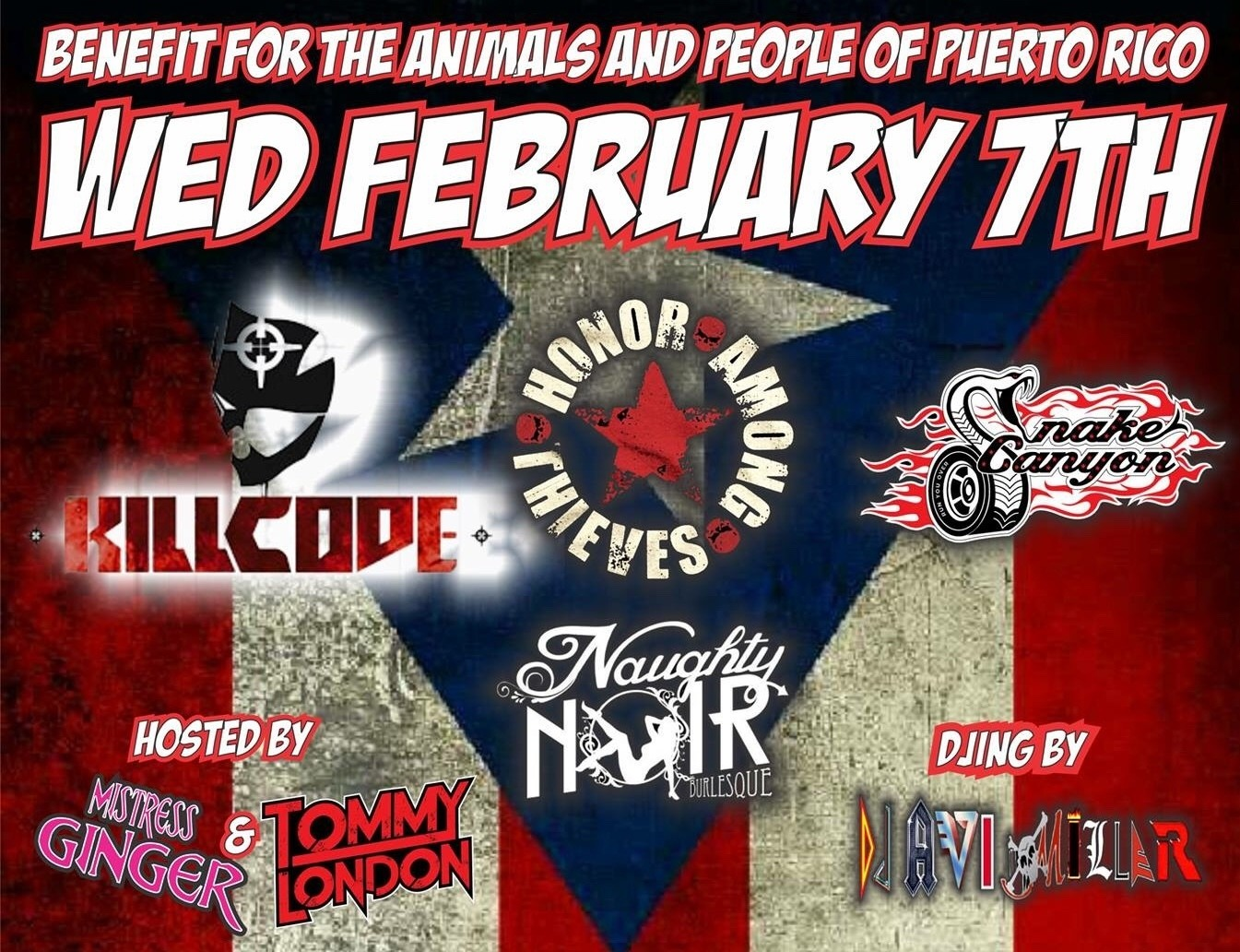 Benefit For Puerto Rico