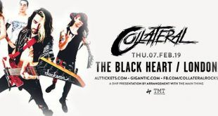 Concert Review: Collateral @ The Black Heart, Camden 7th Feb 2019